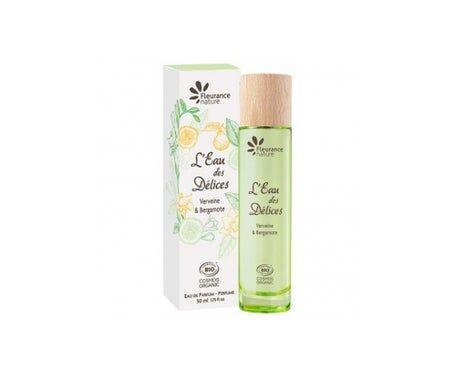 Fleurance Nature Parfum L'Eau Des Délices Bio Verveine Et Bergamote 50ml