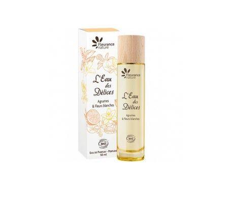 Fleurance Nature Parfum L'Eau Des Delices Bio Agrumes Et Fleurs Blanches 50ml