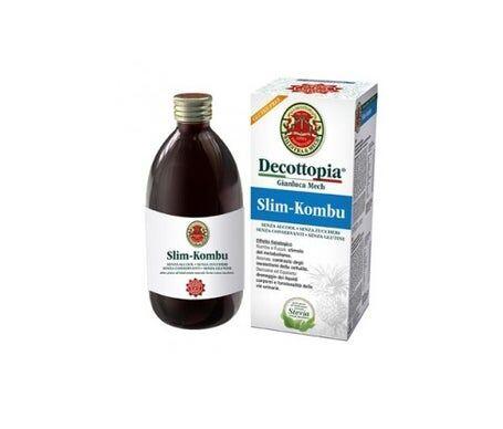 Decottopia Slim Kombu C/Stevia 500Ml