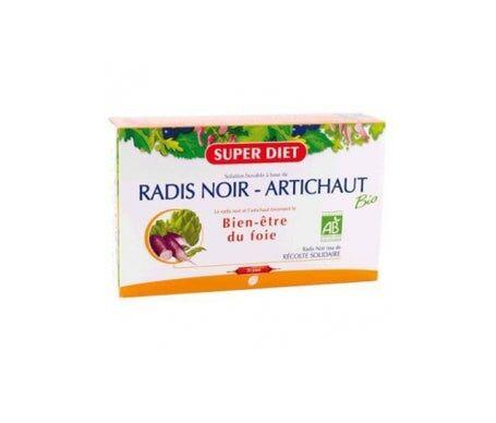 Baule Volante & Fior di Loto Super Diet Radis Noir Artichaut Bio 20 ampoules
