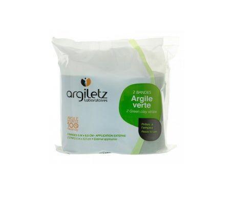 Argiletz Bande Textilit Argile Verte 2 Bandes