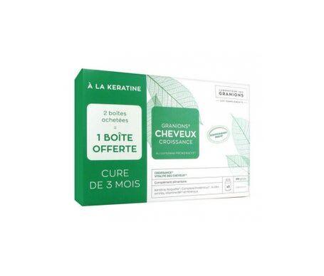 Granions Cheveux Croissance 3x90 gélules