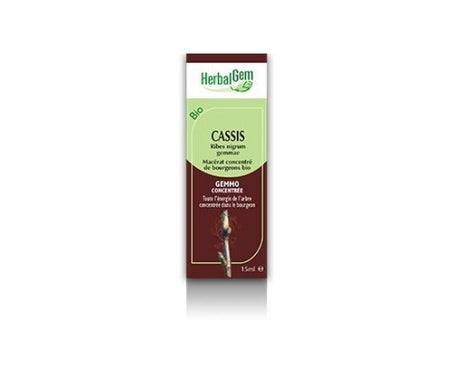Herbalgem Macérat Concentré de Cassis Bio 30ml