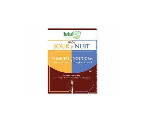 Herbalgem Pack Jour et Nuit Tonigem + Noctigem