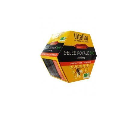 Vitaflor Gelée Royale Bio 1500mg 20 ampoules