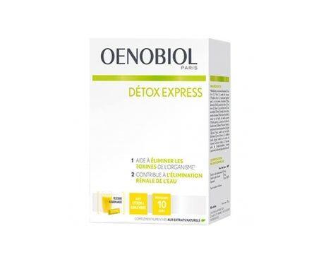 Oenobiol Détox Express Citron Gingembre 10 sticks