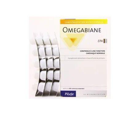 Pileje Omegabiane EPA 80 capsules
