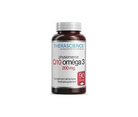 Physiomance Therascience Physiomance Q10 Oméga3 200mg 90 Capsules