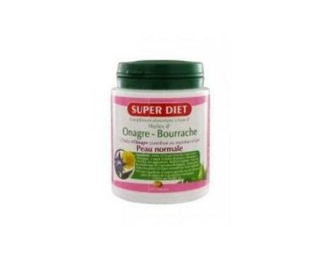 Super Diet Huiles Onagre Et Bourrache 200 Capsules