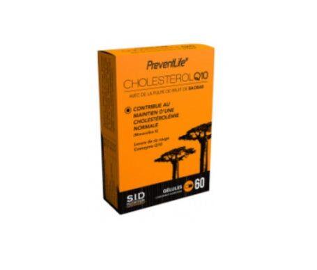 Preventlife SID Nutrition Preventlife Cholestérol Q10 60 gélules