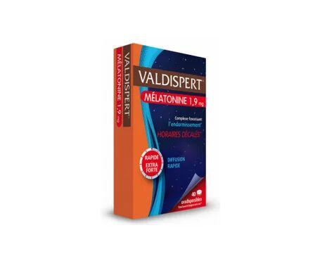 Valdispert Mélatonine 1,9 mg 40 comprimés orodispersibles