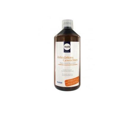 Dexsil Silicium articulations + MSM Glucosamine Chondroïtine Solution Buvable 1l