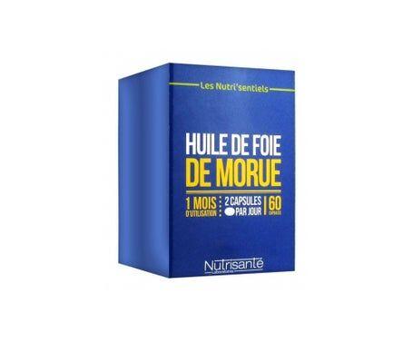 Nutrisante Nutrisanté Huile de Foie de Morue 60 capsules