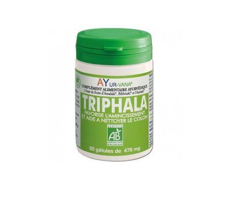 Ayur-vana Ayurvana Triphala Bio 60 gélules