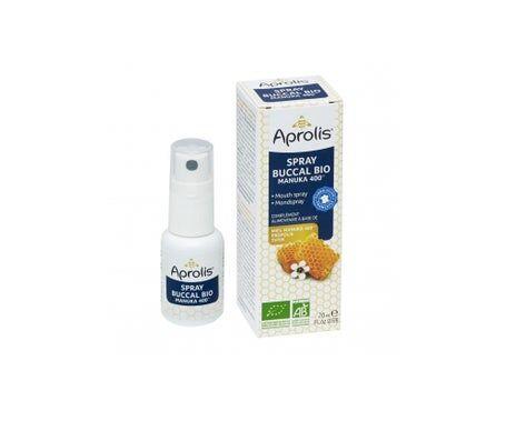 Aprolis Spray Buccal au Miel de Manuka Bio 20ml