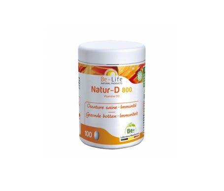 Be-Life Natur-D 800 Vitamine D3 100 capsules