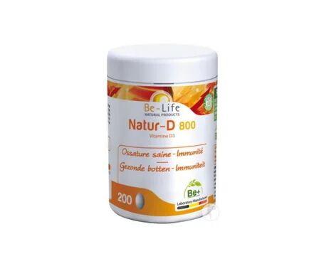 Be-Life Natur-D 800 Vitamine D3 200 capsules