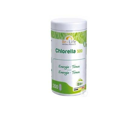 Be-Life Chlorella 500 Bio 200 comprimés