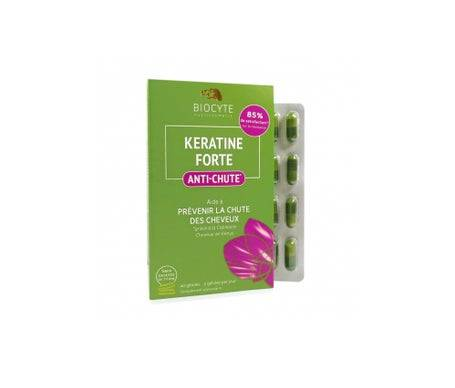 Biocyte Kératine Forte Anti-Chute Des Cheveux 40 Gélules
