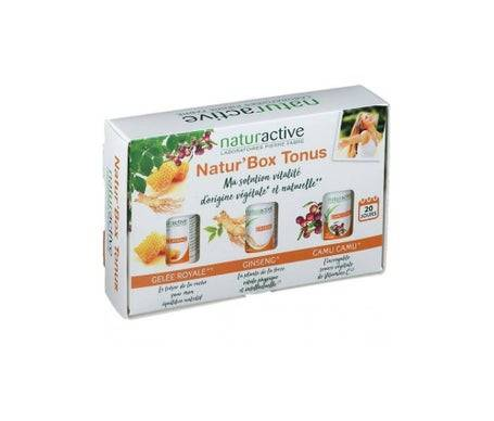 Naturactive Natur'Box Tonus Gelee R/Gins/Camu
