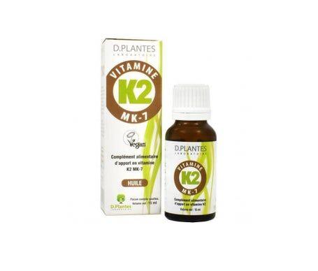 D.Plantes Vitamine K2 Huile 15ml