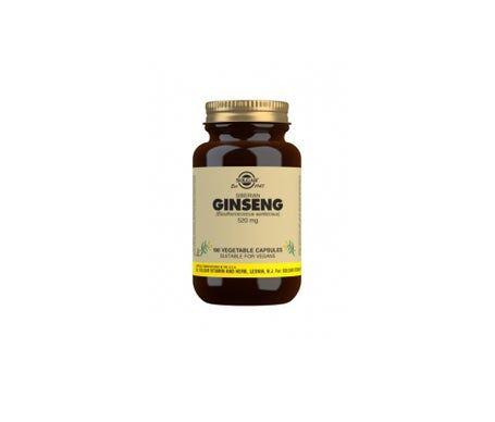 Solgar Sibérien Ginseng 520mg 100 gélules végétales