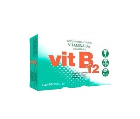 Soria Natural Vitamina B12 Comprimidos Comprimidos Retard 48comp