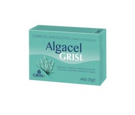 Grisi Algacel savon exfoliant anti-cellulite savon exfoliant raffermissant 125g