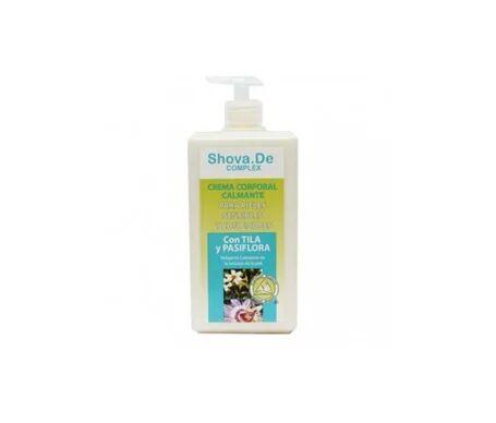 Shova.de lait corporel calmant relaxant 1l