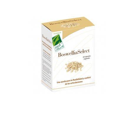 Cien por Cien Natural Boswellia Select 60caps 100% naturel