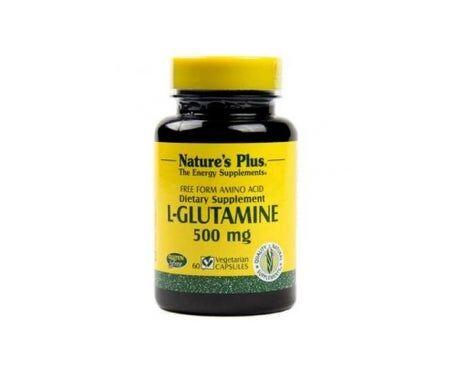 NATURE´S Nature's Plus L-Glutamine 500mg 60 Bouchons