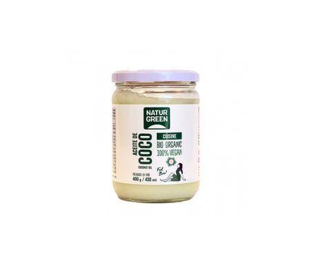 NaturGreen Huile de coco Cuisine Bio 430ml/400g