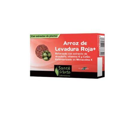 Sante Verte Santé Verte Levure De Riz Rouge 30 Comprimés