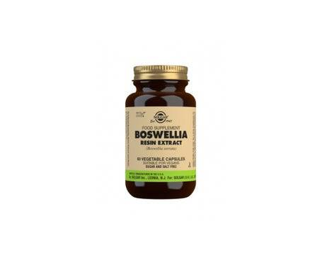 Solgar Boswellia Resin Extract 60caps. Légumes