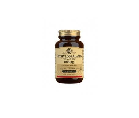 Solgar Methylcobalamine Vitamine B12 1000Mcg 30 Comprimés