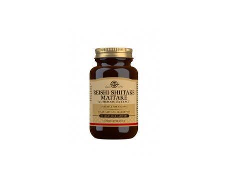 Solgar Reishi Shiitake Maitake 50 gélules Végétales