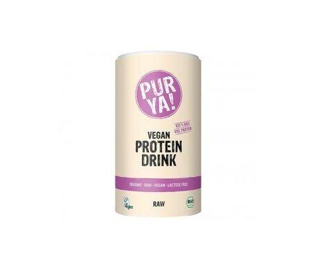 Purya vegan drink avec 100% de protéines brutes 550g