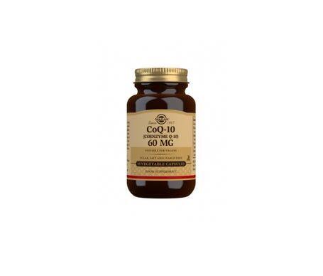 Solgar Coq10 60mg 30 gélules Végétales