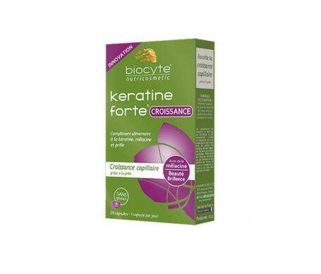 Biocyte Keratine Fort Crois Caps20