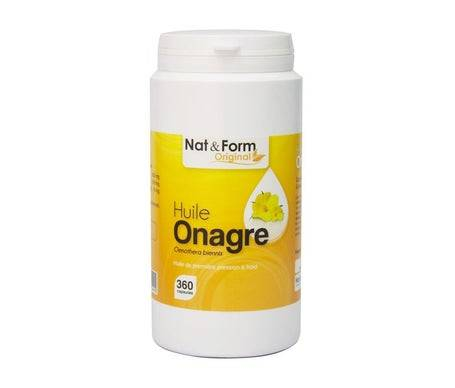 Nat&Form; Original Huile Onagre 360caps