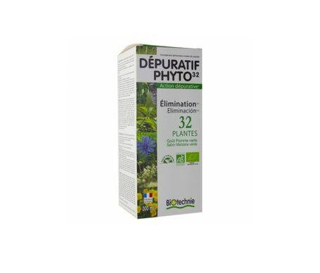 Biotechnie Depurativo Phyto 32 Plantas 300ml