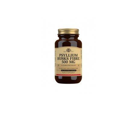 Solgar Psyllium 500mg 200 gélules Végétales