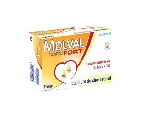 Dielen Molval Fort Levure Rouge de Riz 90 comprimés