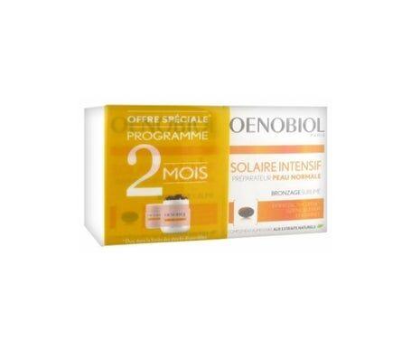 Vemedia Oenobiol Complément Alimentaire Solaire Intensif pour Peau Normale 2 X 30 Capsules