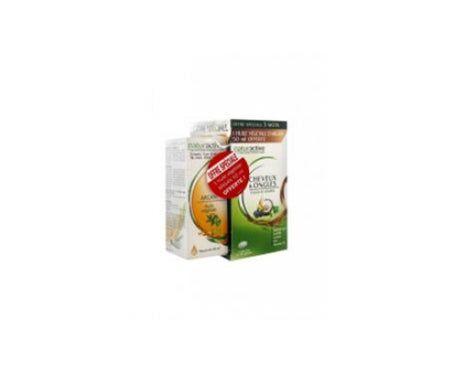 Naturactive Cheveux & Ongles 90 Capsules + Huile Végétale D'Argan 50 ml Offerte