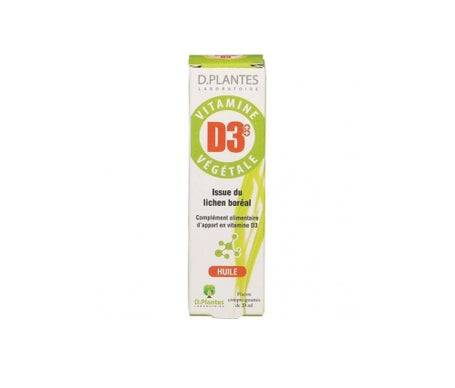 D.Plantes Vitamine D3+ + Vegetale 20ml