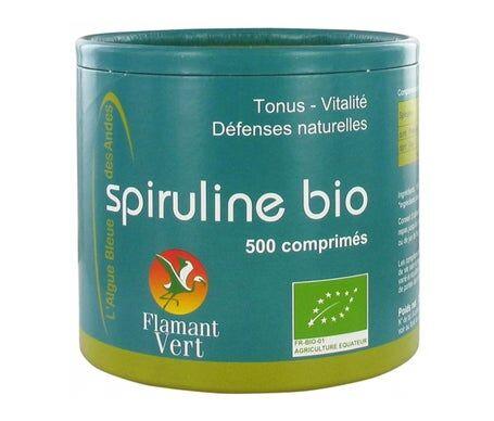 Flamant Vert Espirulina 500mg 500comp