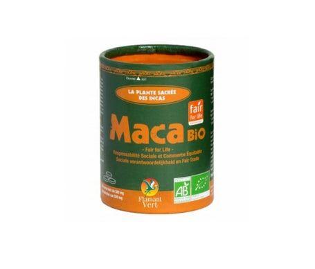 Flamant Vert Maca Bio 340 Comprimés De 500 Mg