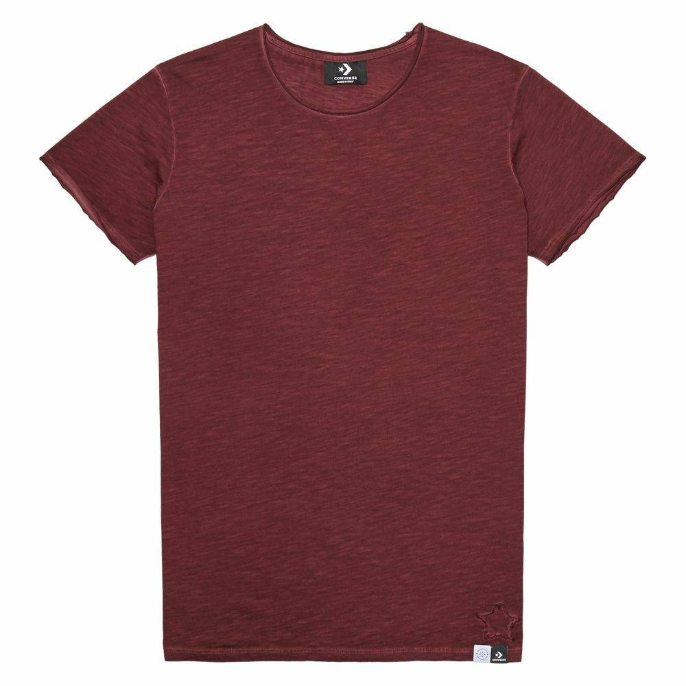 CONS Crew à manches courtes Italian Crafted Dye Berry Dyed taille: XS