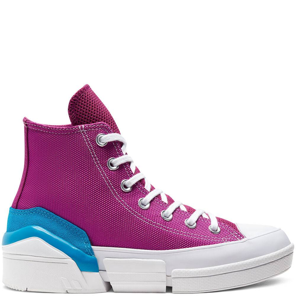 CONS Mix and Match CPX70 High Top Cactus Flower/Sail Blue/White taille: 42.5